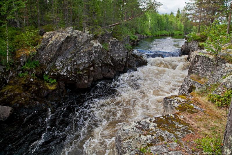 Сплав по реке Тумча